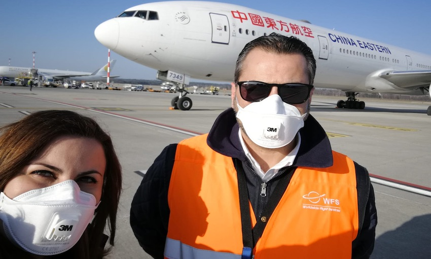 WFS joins the relief effort to help save lives in Italy