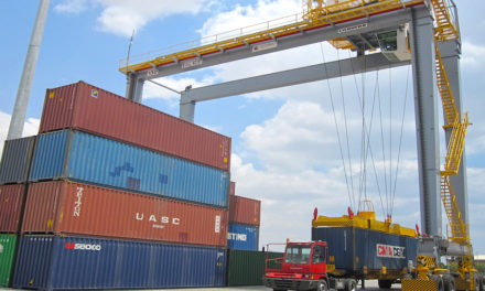 New rubber tyre gantry cranes for DP World, Berbera