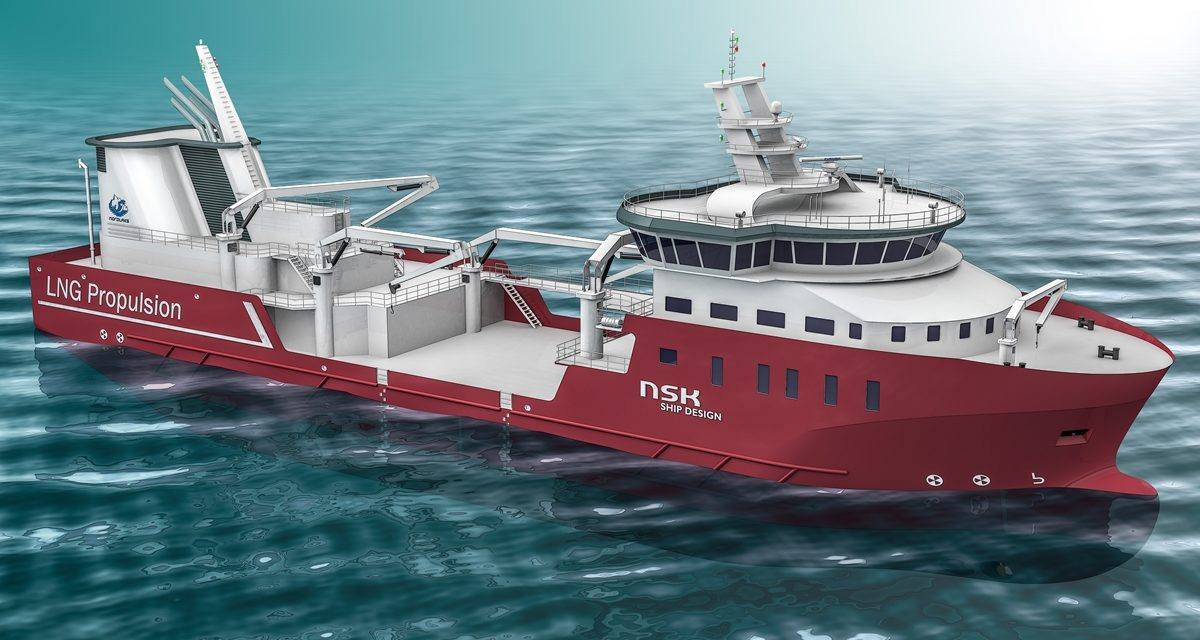 Wellboat design aims to reduce maintenance and emissions