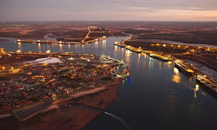 Steady growth continues for Pilbara Ports