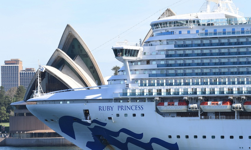 Allegations fly over Ruby Princess (includes video link)