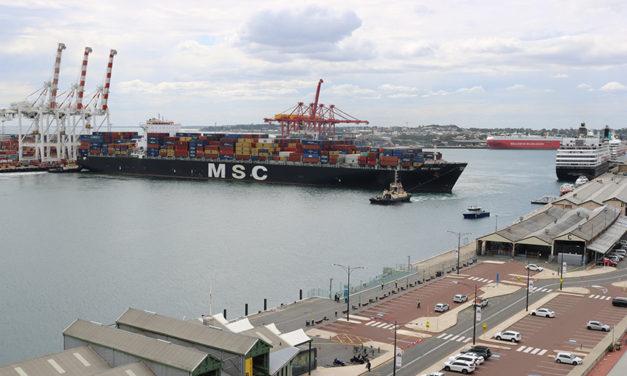 Historic week at Port of Fremantle