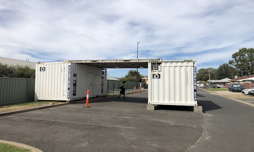 Royal Wolf develops medical testing facilities using containers