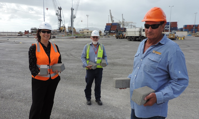 Local paver solution for Townsville container terminal