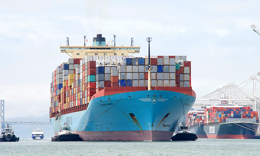 Maersk signs green methanol deal for carbon-neutral containership