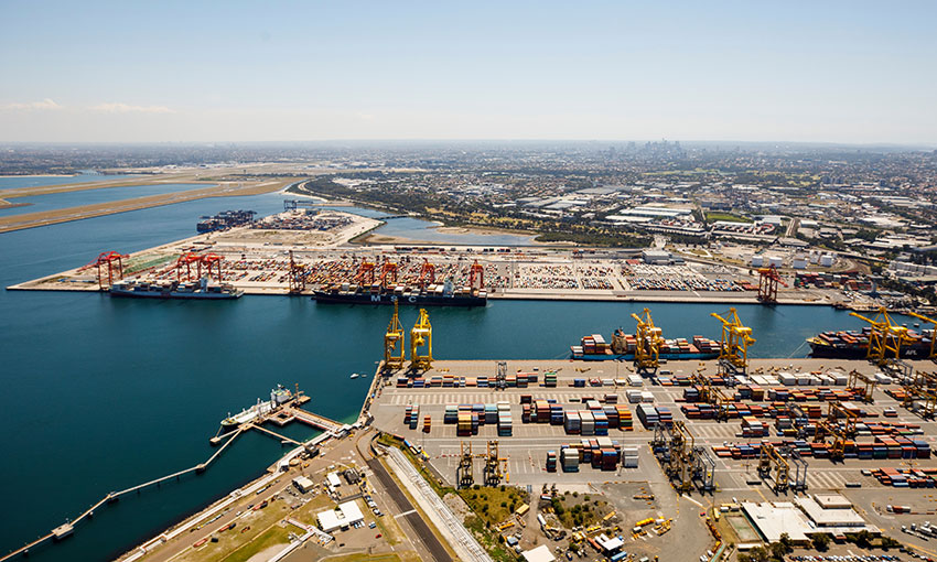 """NSW ports remain open as """"essential services"""""""