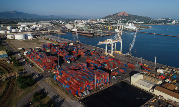 Townsville truck staging project to boost port efficiency