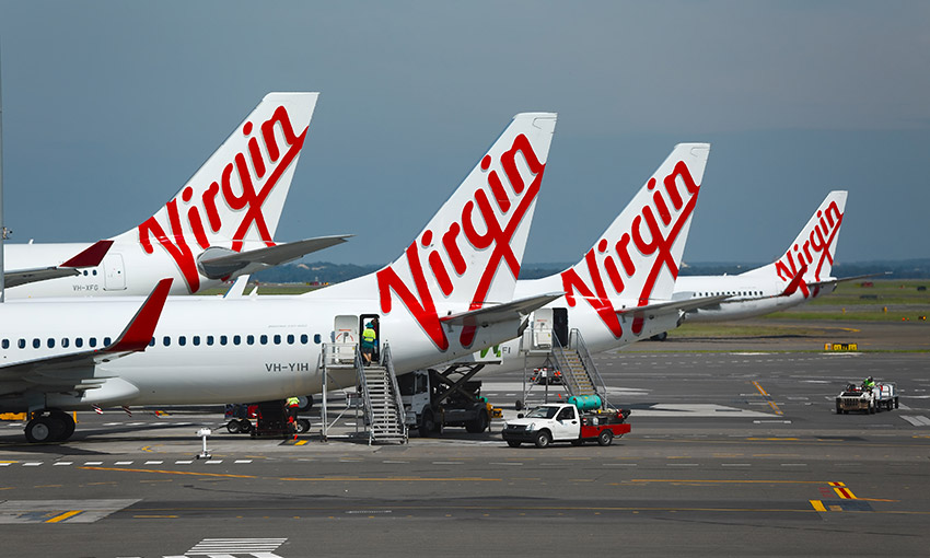 Virgin Australia in trading halt
