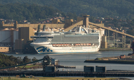 Ruby Princess crew and Illawarra community thanked by cruise company