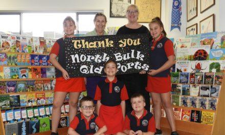 NQBP delivers book boost to port schools