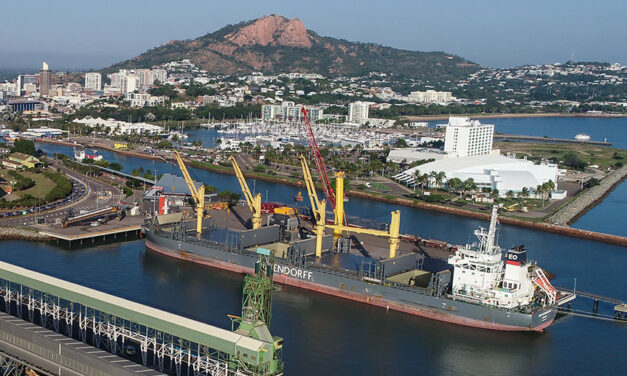 Townsville commissions new crane