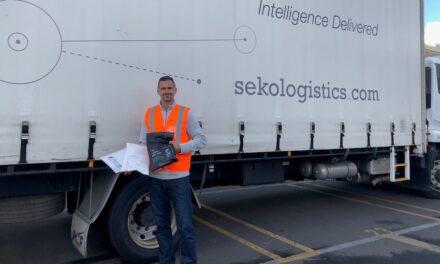 Logistics company's bid to replace single-use plastics