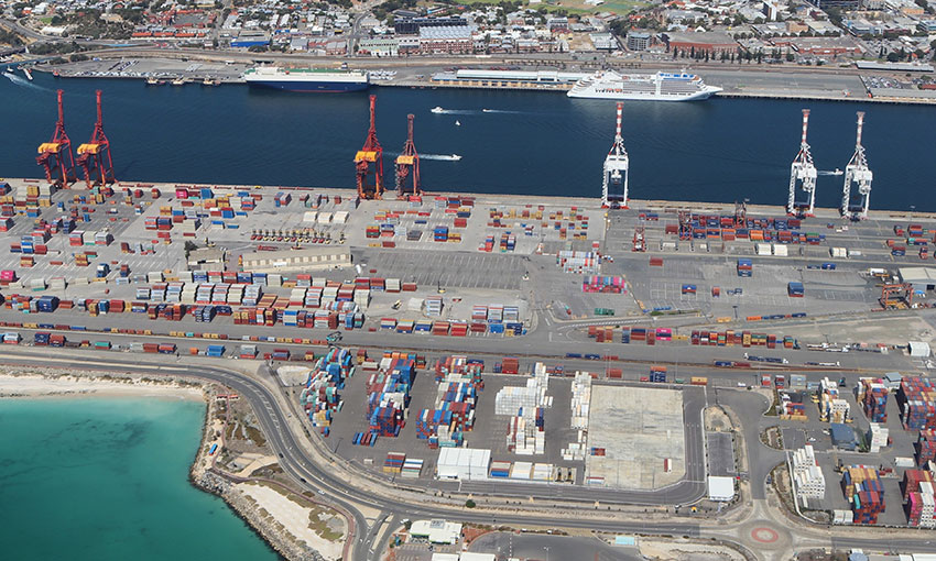 Container trade at Fremantle bounces back