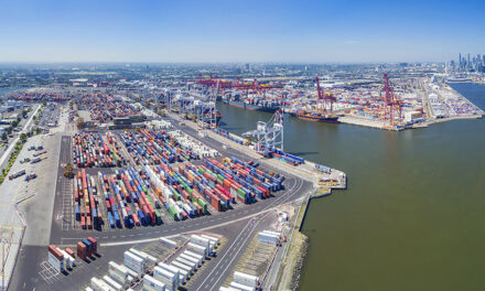 Melbourne container trade takes a dip