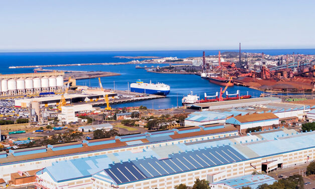Imports boost Port Kembla trade