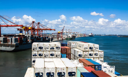 Brisbane's container throughput down in July
