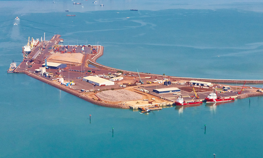 Territory iron ore shipment departs Darwin