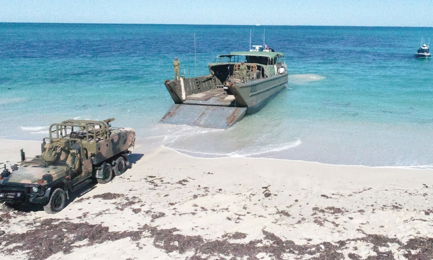 Agencies practice maritime drills