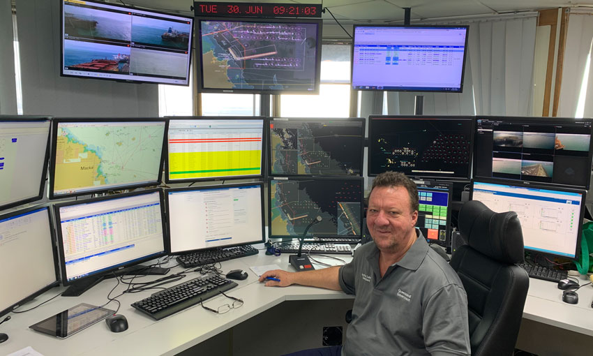 Quick-witted VTS operator honoured