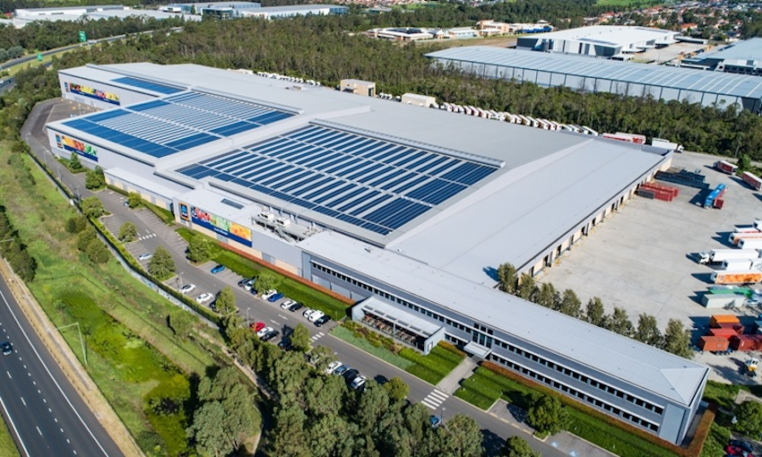 Clean energy investment in logistics property fund