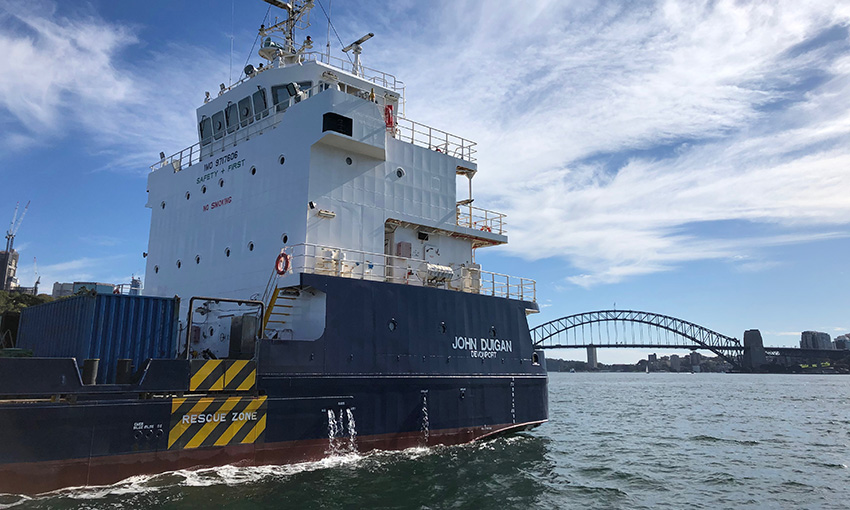 Further dry-docking for John Duigan