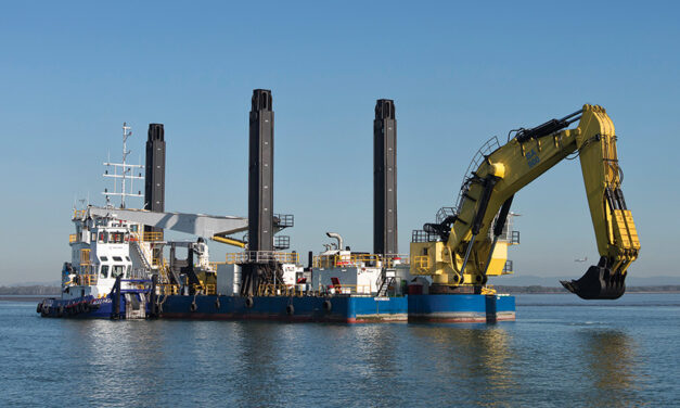 Gladstone dredging finished, Weipa beginning