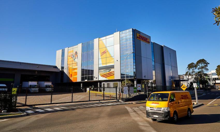 DHL Express' unveils new Sydney service centre