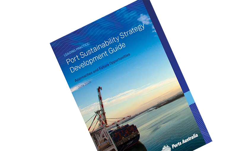 Ports Australia launches sustainability strategy guide [WITH VIDEO]