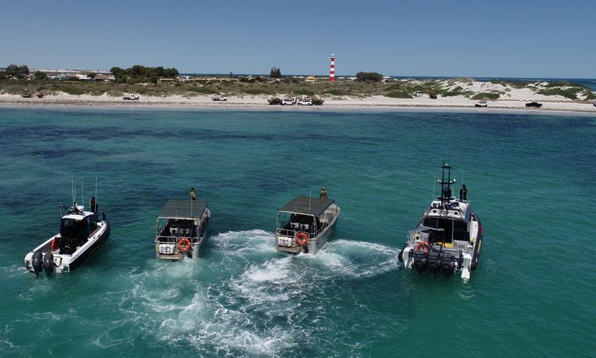 Joint agency training exercise on WA mid-west coast