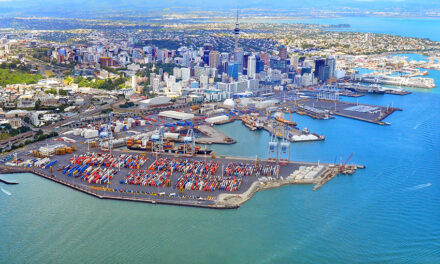 Auckland HY container volumes, revenue, profits down