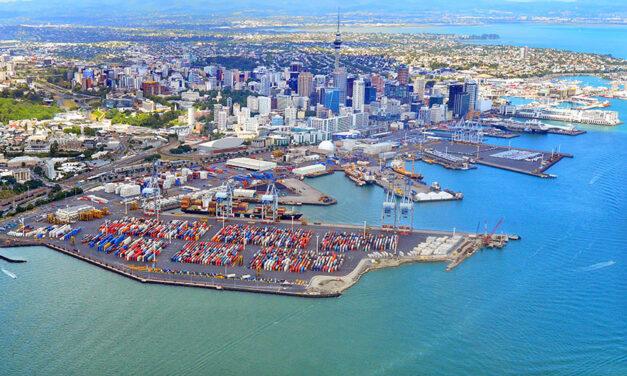Auckland HY container volumes, revenue, profits down