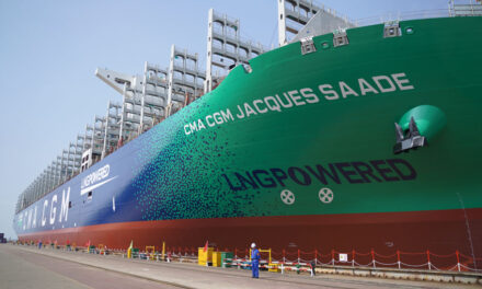 LNG giant joins CMA CGM fleet (with video)