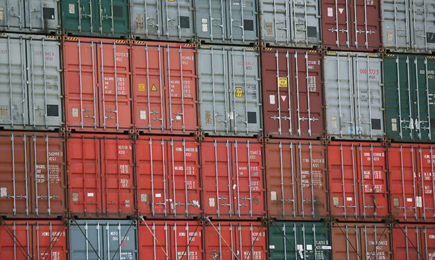 Large container loss reported in the Pacific