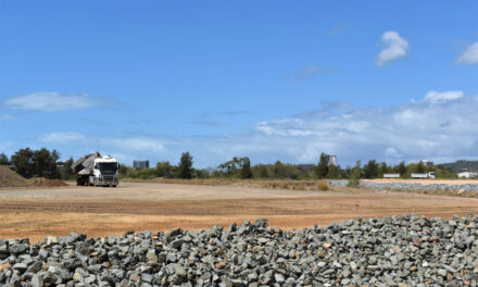 Work progresses on Gladstone Port business facility