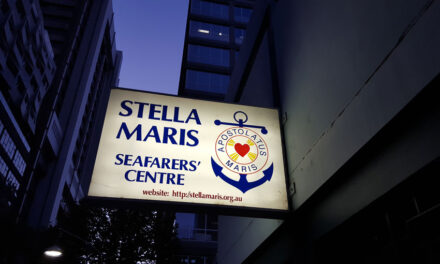 Stranded seafarers get remote medical help via Stella Maris Melbourne