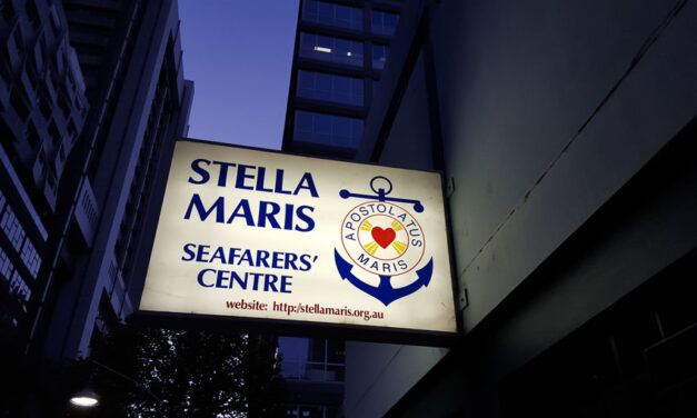 Stranded seafarers get remote medical help via Stella Maris Melbourne