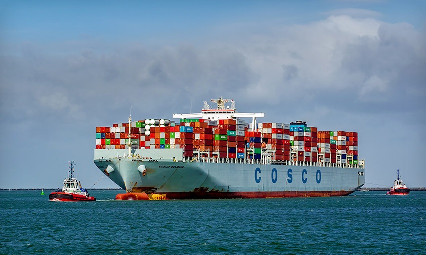 New COSCO service delivers opportunities for the north