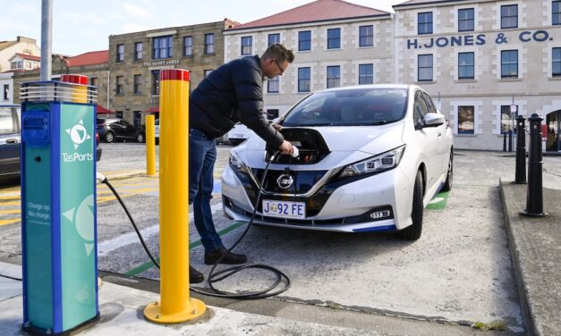 EV chargers power up TasPorts' sustainability commitment