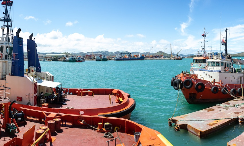 New facilities for Melanesian marine services camp