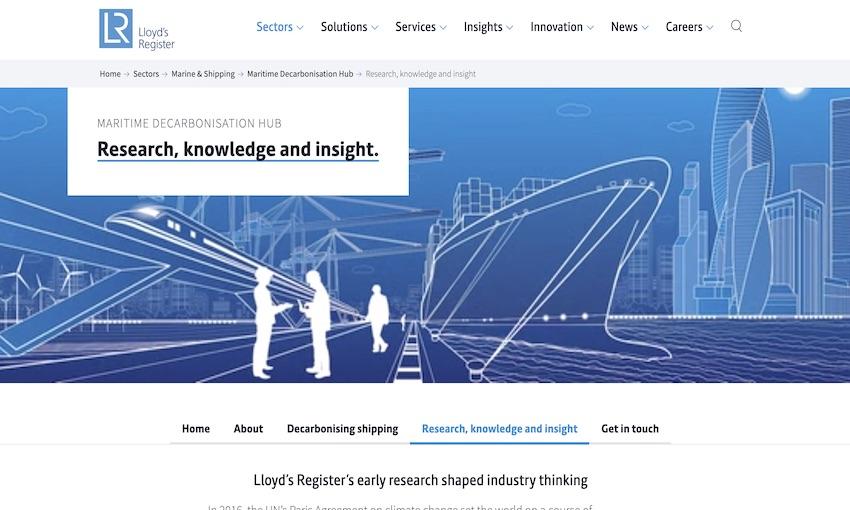 Lloyd's Register launches dedicated decarbonisation hub