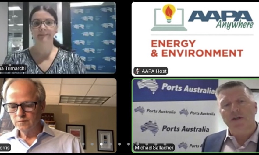 Ports Australia shares sustainability guide with the US