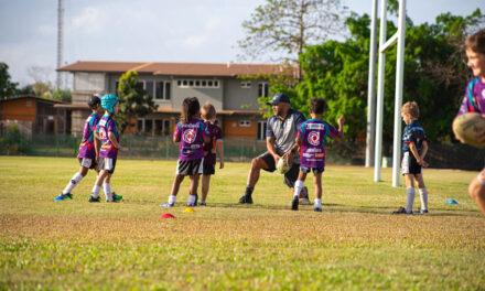 Tug company backs bush rugby league clinic