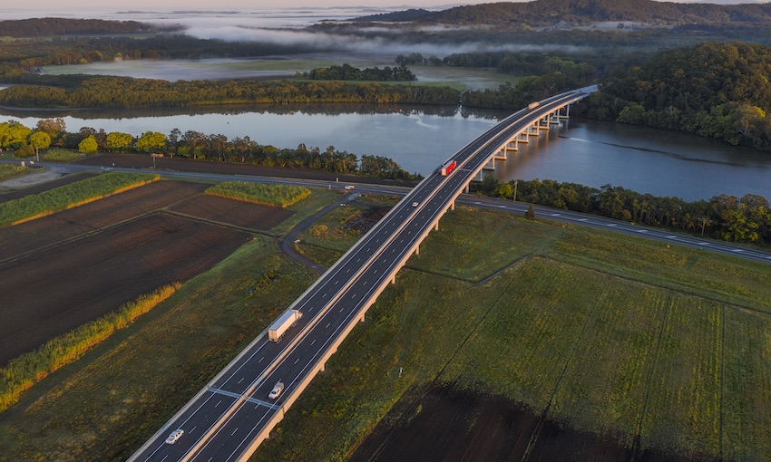 Bridging two capitals to boost freight