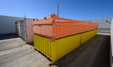 Weighing solution improves container handling safety