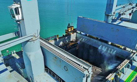 Zinc milestone at Port of Townsville
