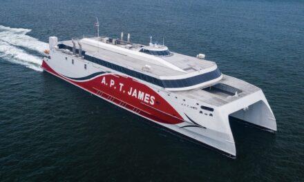 Austal Vietnam delivers 94-metre catamaran ferry