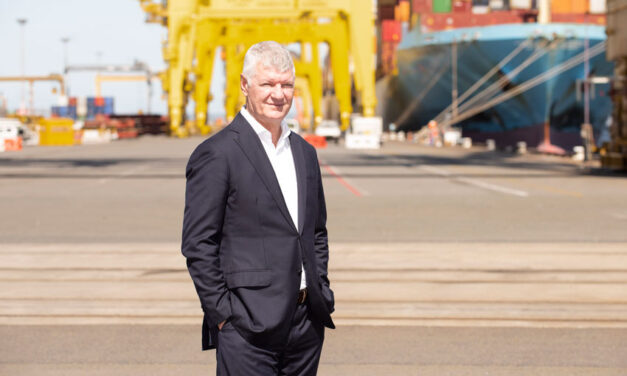 Change of leadership at major stevedore