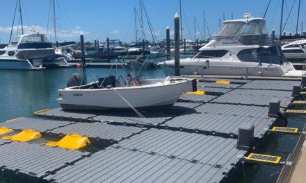 Floating dry docks installed at Gladstone