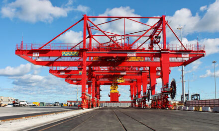 Union critical of plans for automated cranes at Port Botany