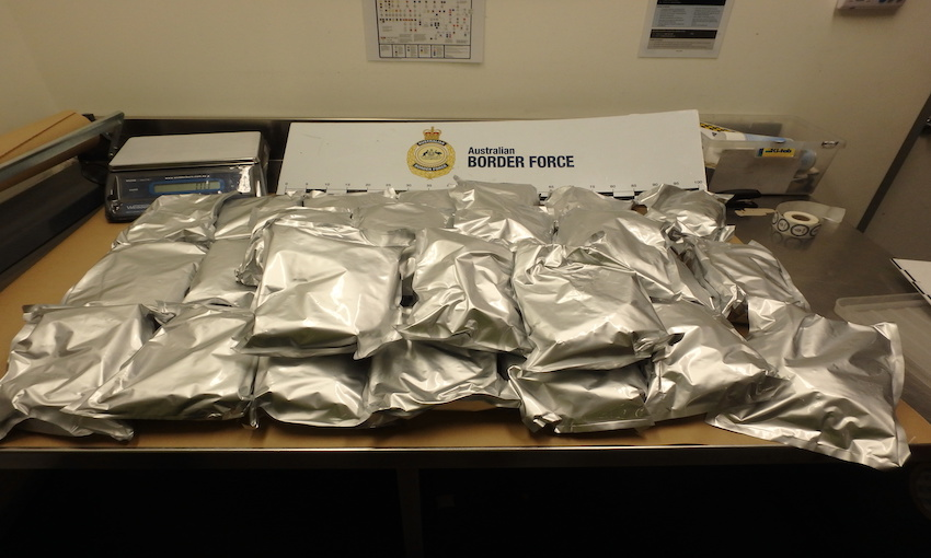 NSW man charged over 200kg meth importation
